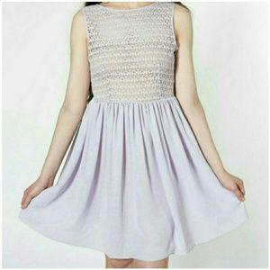 AA Lavender Lace Dress